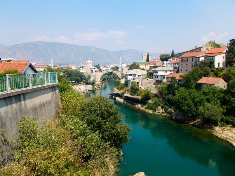 Mostar and the Turkish Bridge